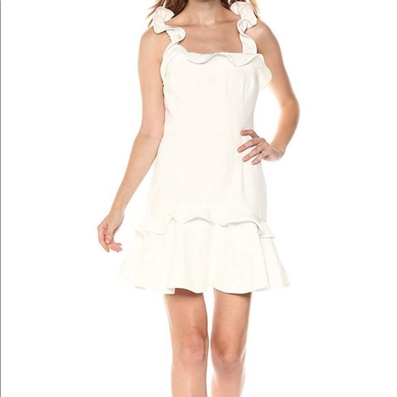 KEEPSAKE the Label Dresses & Skirts - White ruffle mini dress